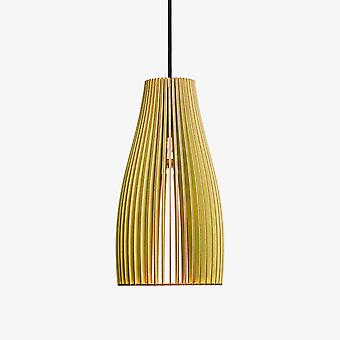 Iumi Ena Cone Shaped Plywood Pendant Lamp - Light Green