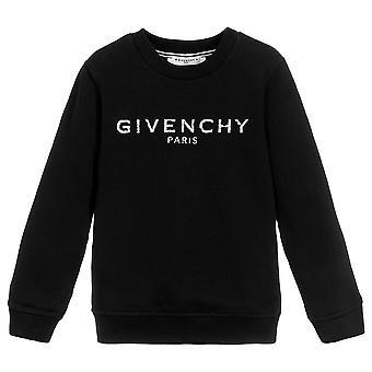 Givenchy Kids Logo Print Sweatshirt