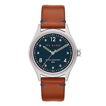 Ted Baker BKPBLF908 Men's Beleeni Tan Strap Wristwatch