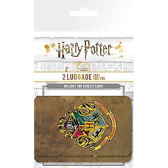 Harry Potter Roxfort poggyászkártya tartó