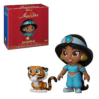 Aladdin Jasmine with Rajah 5-Star Vinyl Figure