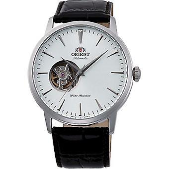 أورينت ساعة اليد الجلدية التلقائية FAG02005W0