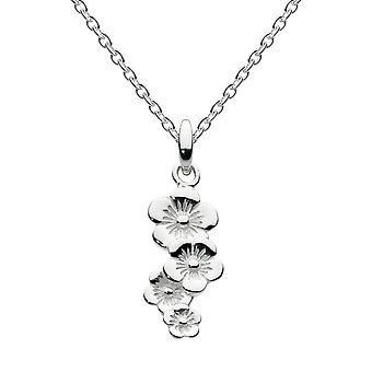 Dew Sterling Silver Scatter Flower Pendant 90810HP