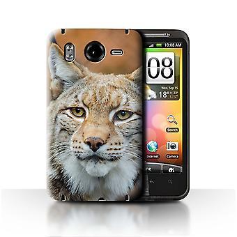 STUFF4 Fall/Cover für HTC Desire HD/G10/Lynx/Bobcat/Nordamerika Tiere