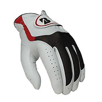 Bridgestone Mens Cabretta Leather Grip Breathable Durable E Golf Gloves LH