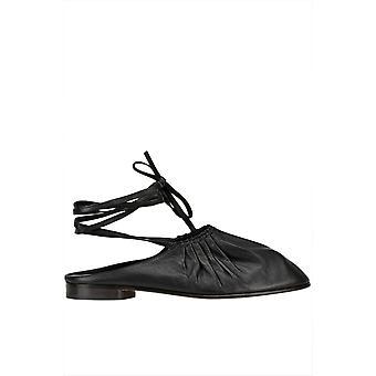 3.1 Phillip Lim Ezgl229009 Women's Black Leather Flats