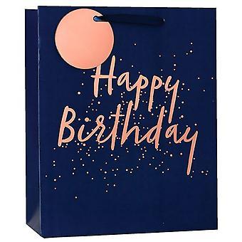 Simon Elvin Happy Birthday Embossed Foil Gift Bags (Pack of 6)