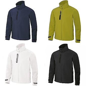B&C Mens X-Lite 3 Layer Softshell Performance Jacket
