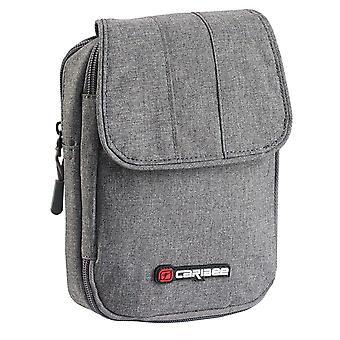 Caribee Travel Grip Shoulder Wallet - Charcoal Grey