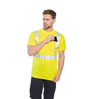 Portwest Hi-vis Pocket t-shirt S190