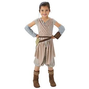 Star Wars Girls Rey Deluxe Costume
