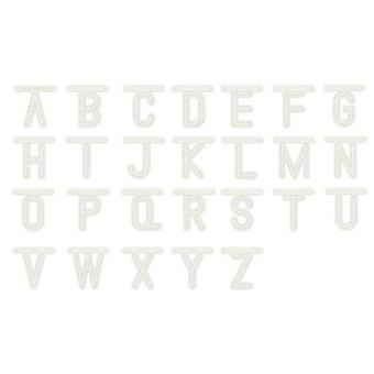 Dutch Doobadoo Dutch Stencil Art Alphabet A-Z (80 x 80 mm) 470.990.110 80mm
