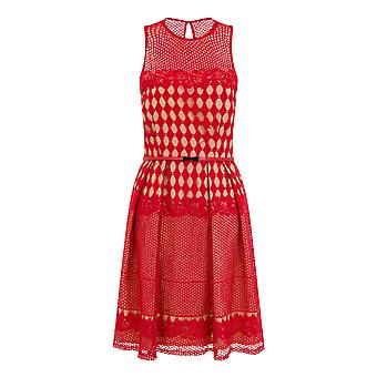 Little Mistress Womens/Ladies geometrische haak Prom jurk
