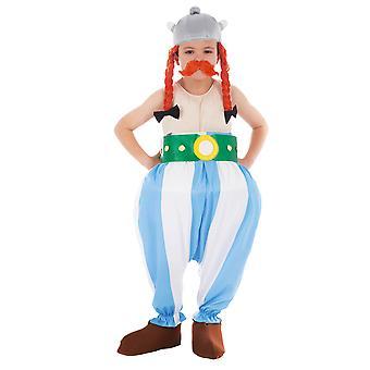 Obelix Kinder vermomming-Asterix en Obelix