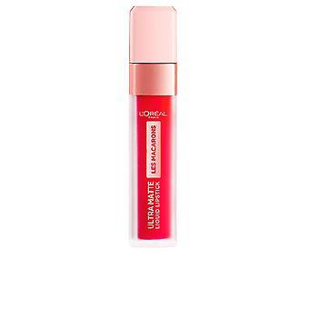 L'Oreal Make Up Les Macarons Ultra Matte Flüssige Lippenstift #840-unendliche Pflaume für Frauen