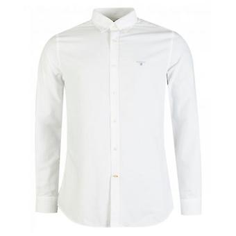 Barbour No 3 Tailored Long Sleeved Oxford Shirt