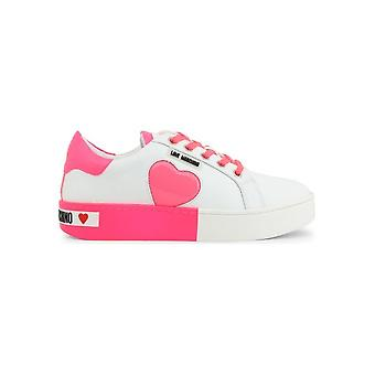 Love Moschino - Shoes - Sneakers - JA15023G1AIF_210B - Ladies - white,deeppink - EU 35