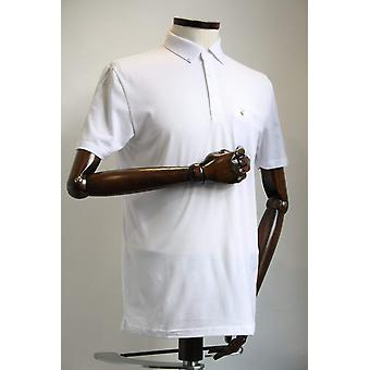 Ladro Button-Down Collar Polo Shirt