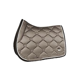 PS of Sweden Ps Of Sweden Monogram Full Size Jump Saddle Pad - Ice Coffee