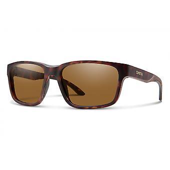Basecamp sunglasses men polarized matt brown/brown