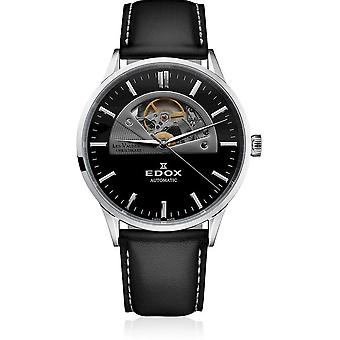 Edox - Wristwatch - Men - Les Vauberts - Open Heart Automatic - 85014 3C1 NIN