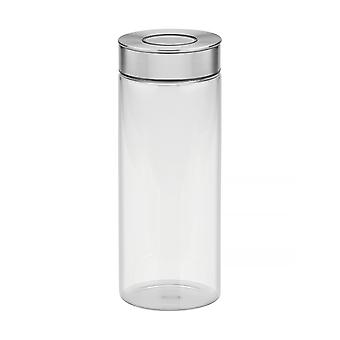 Tramontina Glass Canister With Airtight Seal, 1.8L
