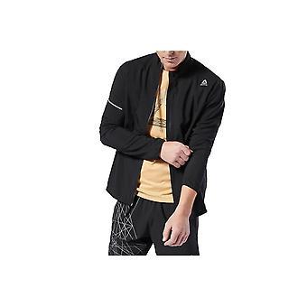 Reebok Run Essentials Woven Jacket DU4303 universale giacche uomo tutto l'anno