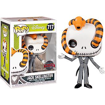 The Nightmare Before Christmas Jack Snake Head US Excl Pop!