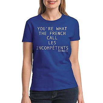 Home Alone You're Incompetents Women's Royal Blue T-shirt