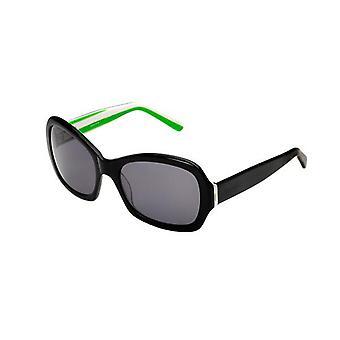 Seafolly Delmar Sunglasses Black Green