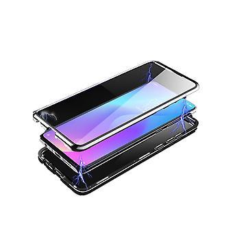 Caixa móvel com vidro temperado de dupla lateral - Xiaomi Mi 9 - Prata