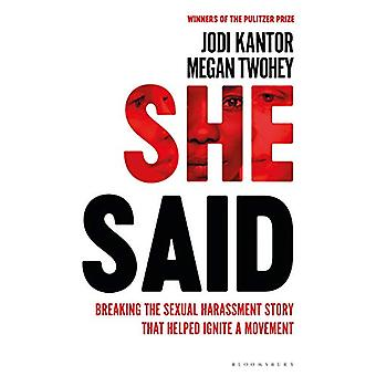 She Said by Jodi Kantor - 9781526603302 Book