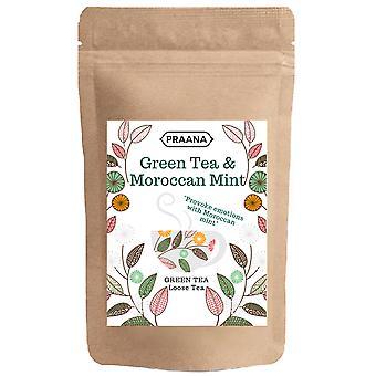 Praana Tee - grüner Tee mit marokkanischen Minz Blätter - Catering Pack 500g