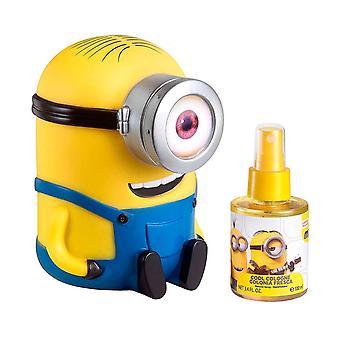 Fragrances For Children - Minions Gift Set Body Spray 100 ml and Money-box - 100ML
