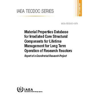 Base de données sur les propriétés matérielles pour composant structurel de base irradié