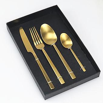 أدوات المائدة الفولاذ المقاوم للصدأ شوكة سكين الغربية