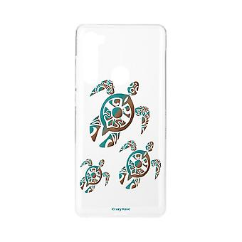 Hull For Xiaomi Redmi Note 8 Flexible Turtle Family