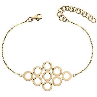Elements Gold Multi Circle Bracelet - Gold