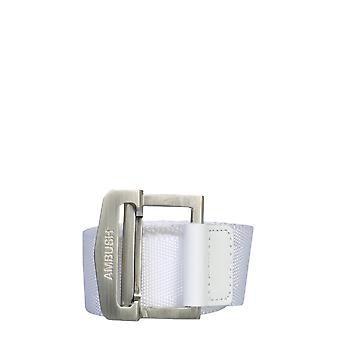 Emboscada 12112171whte Men's White Cotton Belt
