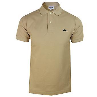Lacoste men's beige polo shirt