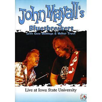 Mayall, John & the Bluesbreakers & Friends - Live at Iowa State University [DVD] USA import
