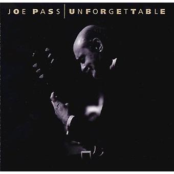 Joe Pass - Unforgettable [CD] USA import