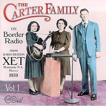 Carter Family - On Border Radio [CD] USA import