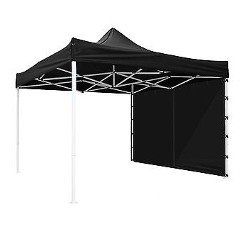 Yescom 10x10 Ft Easy Pop Up Canopy with Sidewall Outdoor Sun Shade Instant Shelter Portable Folding Party Tent