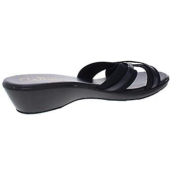 Callisto Womens Babcock Pointed Toe Casual Slide Sandals