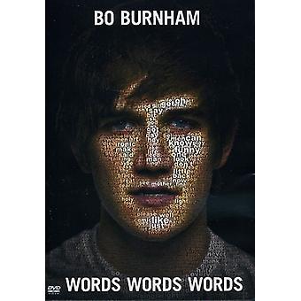 Bo Burnham - Words Words Words [DVD] USA import