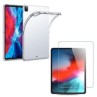 TPU funda de silicona + tanque de lámina iPad Samsung Huawei Tablet Caso transparente nuevo