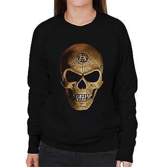 Alchemie Omega schedel vrouwen ' s Sweatshirt