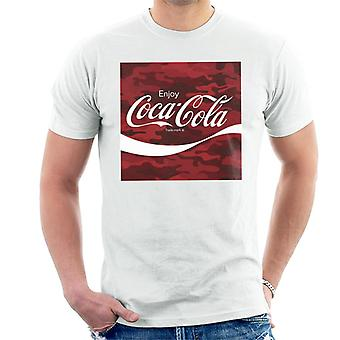 Coca Cola Camo Men's T-Shirt