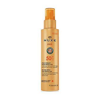 Nuxe Sun - Body & Face Milk Spray High Protection SPF50 150 ml